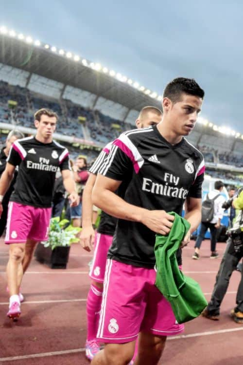 James Rodriguez Naked In Bath image
