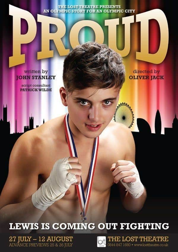 parry glasspool shirtless in proud promo poster