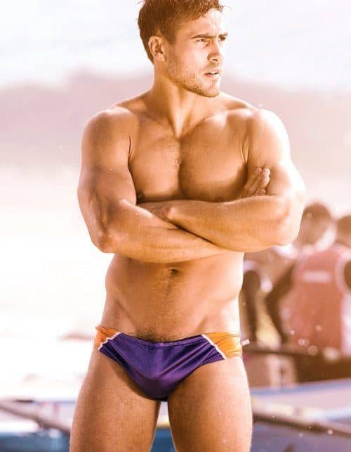 Matt Wilson In Speedos image