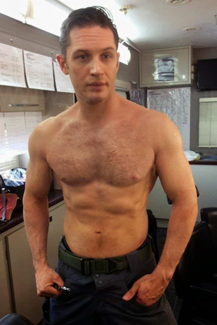 tom hardy shirtless