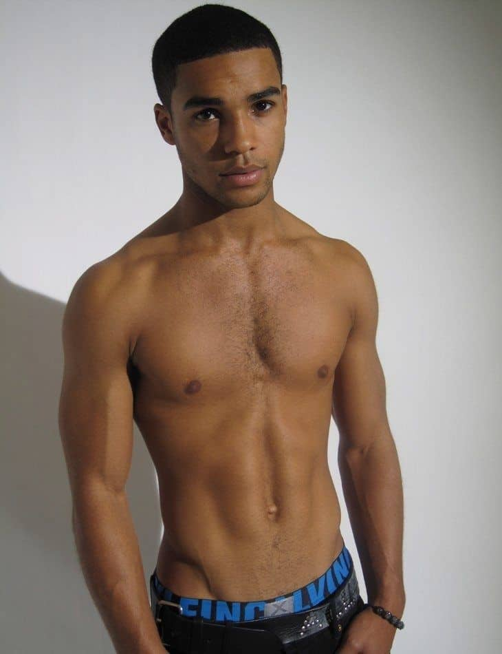 Lucien Laviscount Shirtless Photoshoot image
