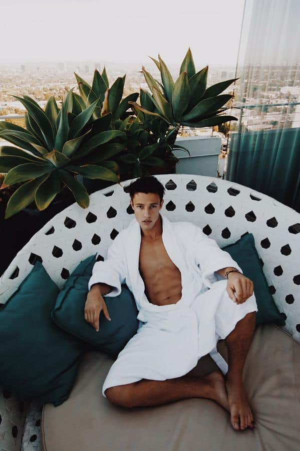 Cameron Dallas Shirtless And Wet In Shower image