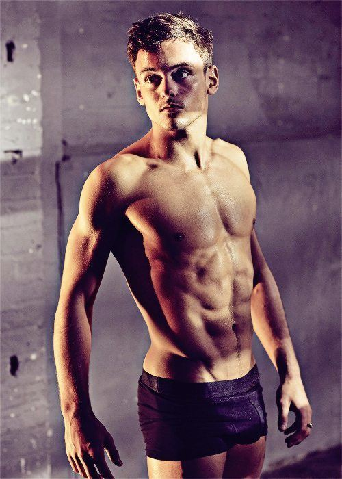 Sexy Tom Daley Calendar Outtakes