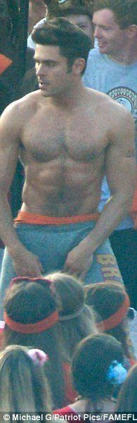 Zac Efron Strips in Neighbors 2 Shirtless and Underwear image