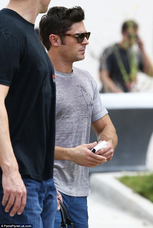 Zac Efron On Neighbors 2 Set image