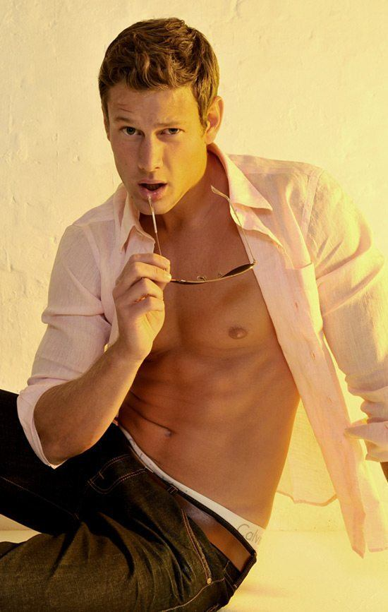 Tom Hopper Shirtless image