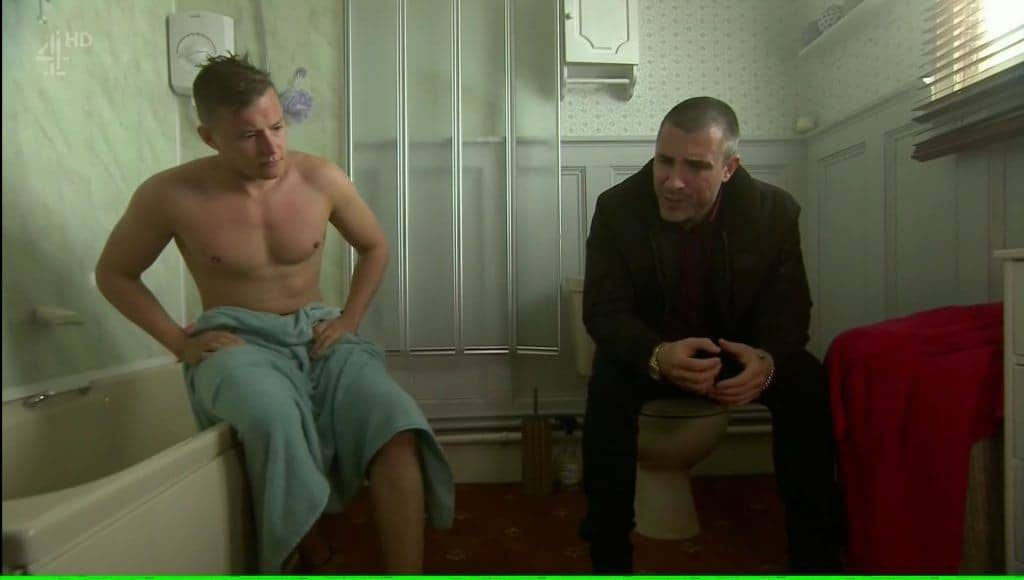 Charlie Wernham Naked In Shower