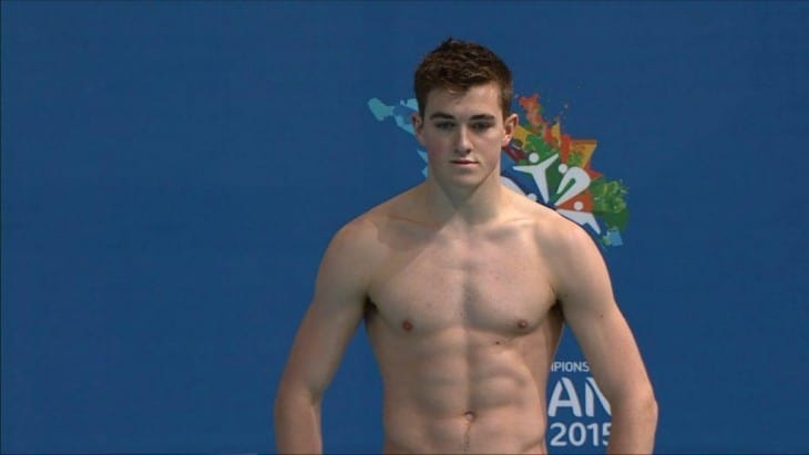 James Connor Shirtless - Australian Diver