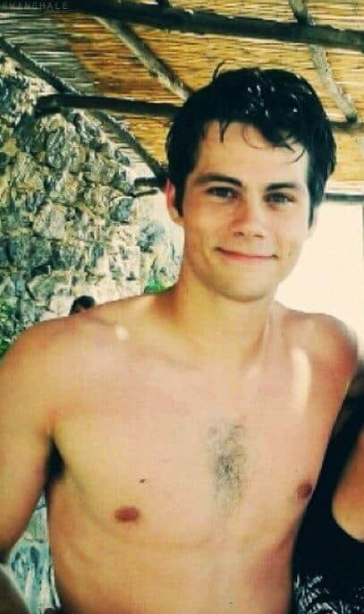 Dylan OBrien Shirtless Selection image