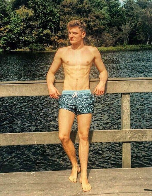 Matty Lee With British Divers Shirtless image