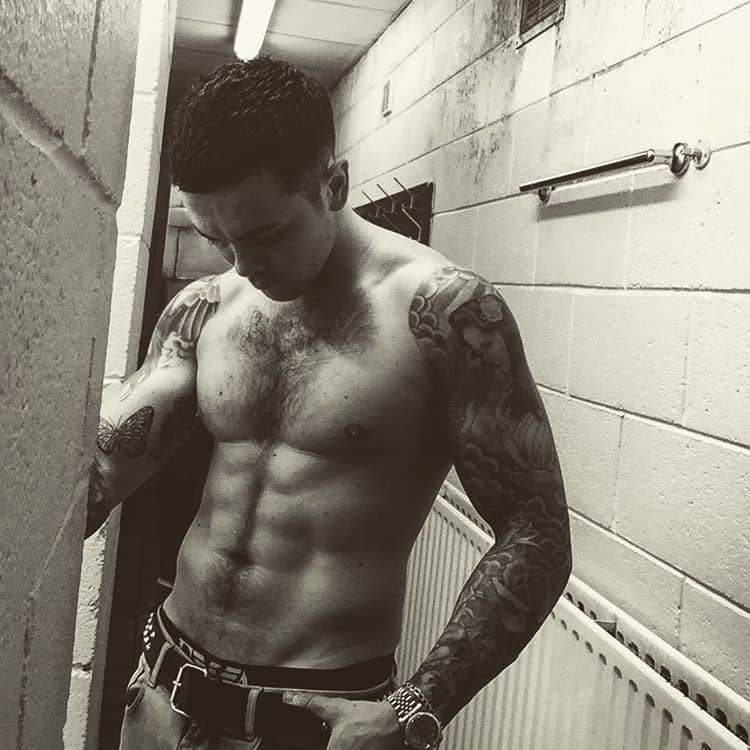 Tattoo, Ray Quinn - Ray Quinn Shirtless Hairy Body