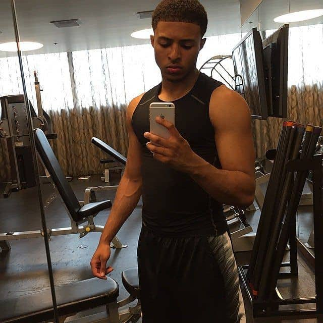 Diggy Simmons Shirtless Instagram Mix image