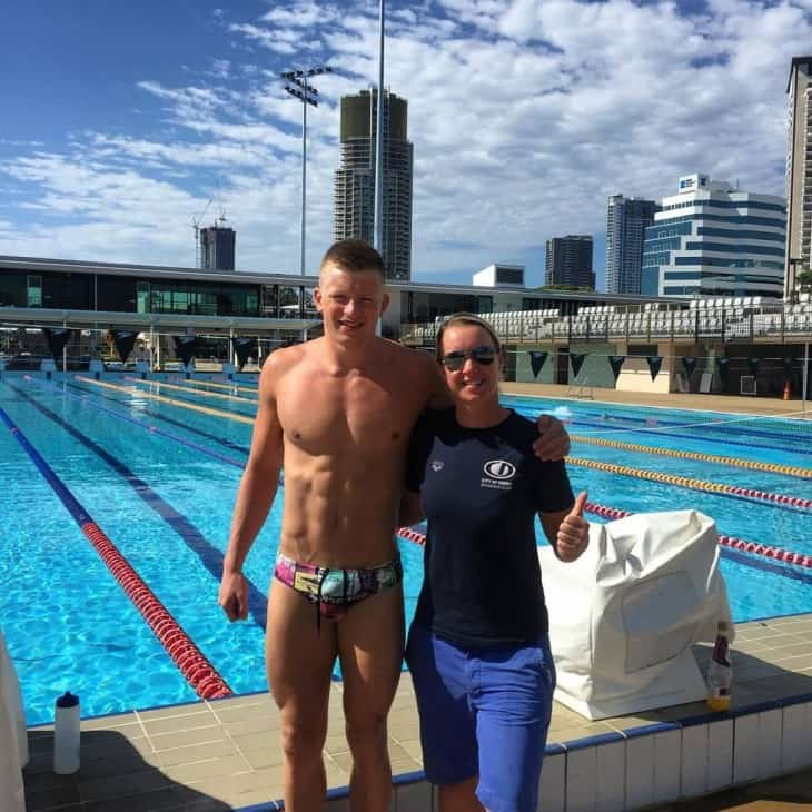 Team GB's Adam Peaty Shirtless