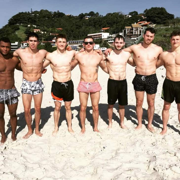 Sam Oldham With Friends