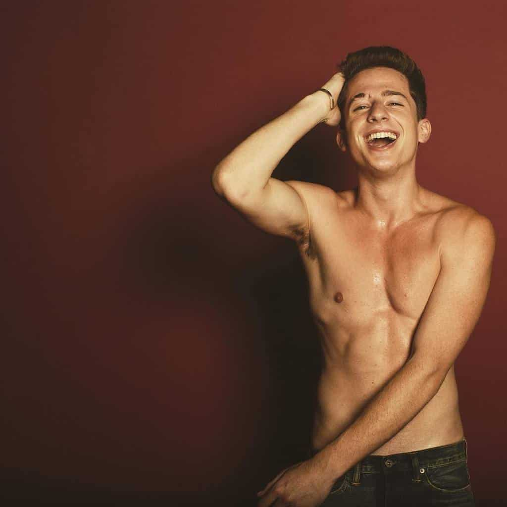 Charlie Puth Including Shirtless