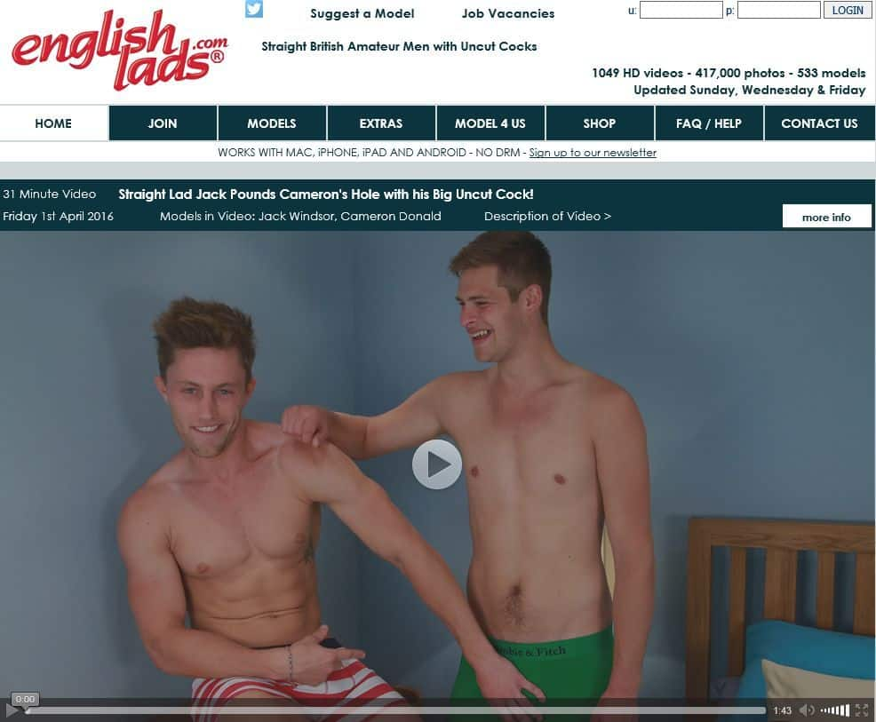 British Gay Porn - English Lads Review