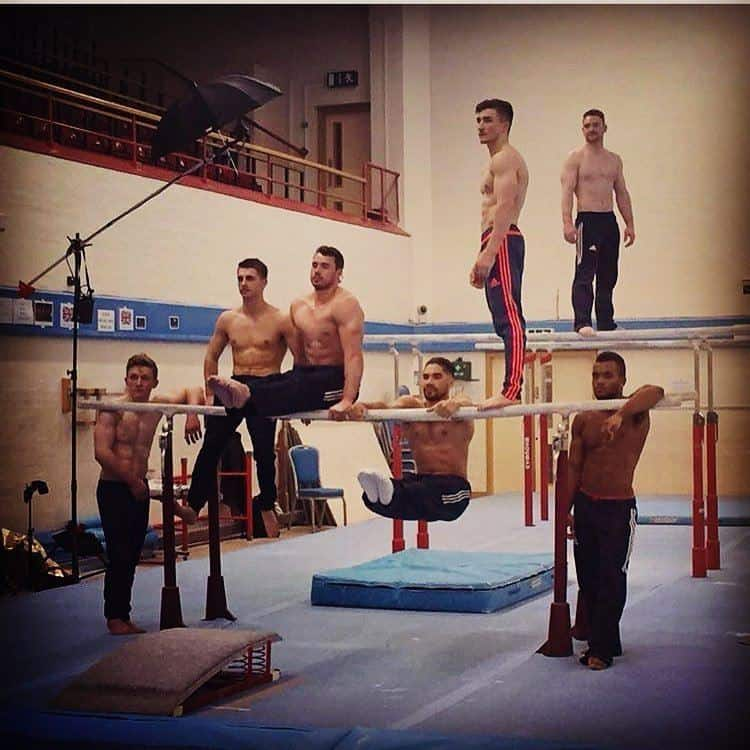 British Gymnasts Shirtless image