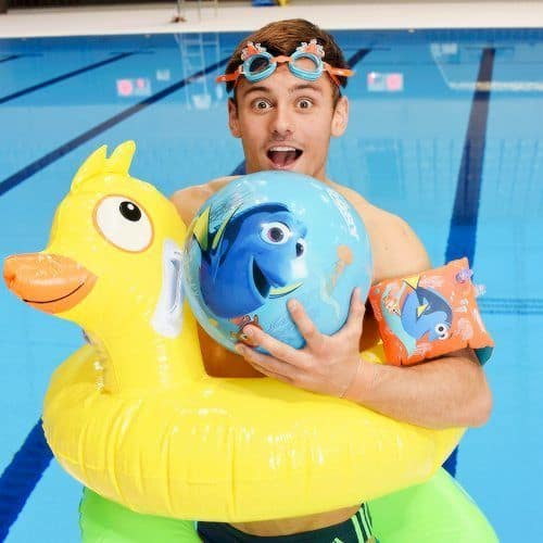 Tom Daley & His Duck image