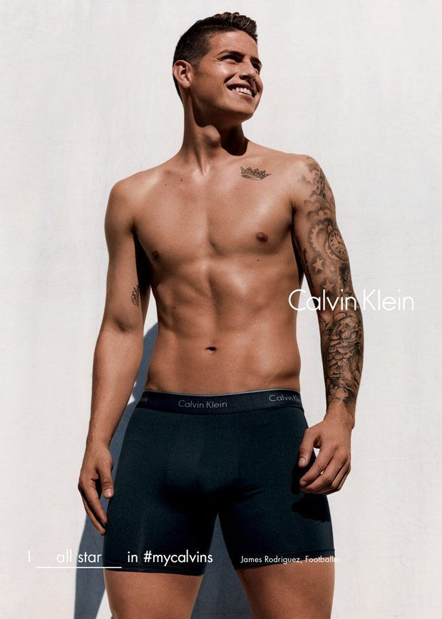 James Rodriguez In Calvins image