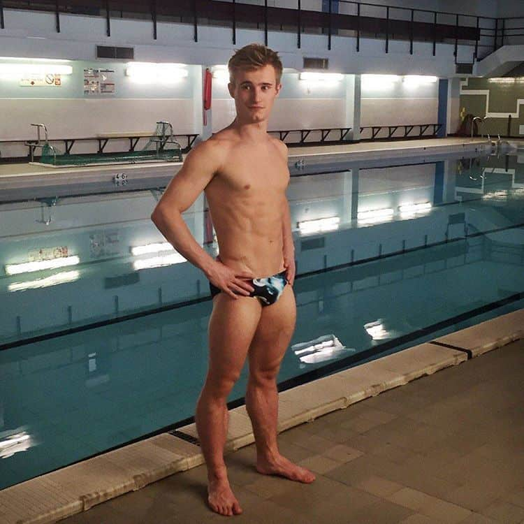 Jack Laugher Shirtless Promo