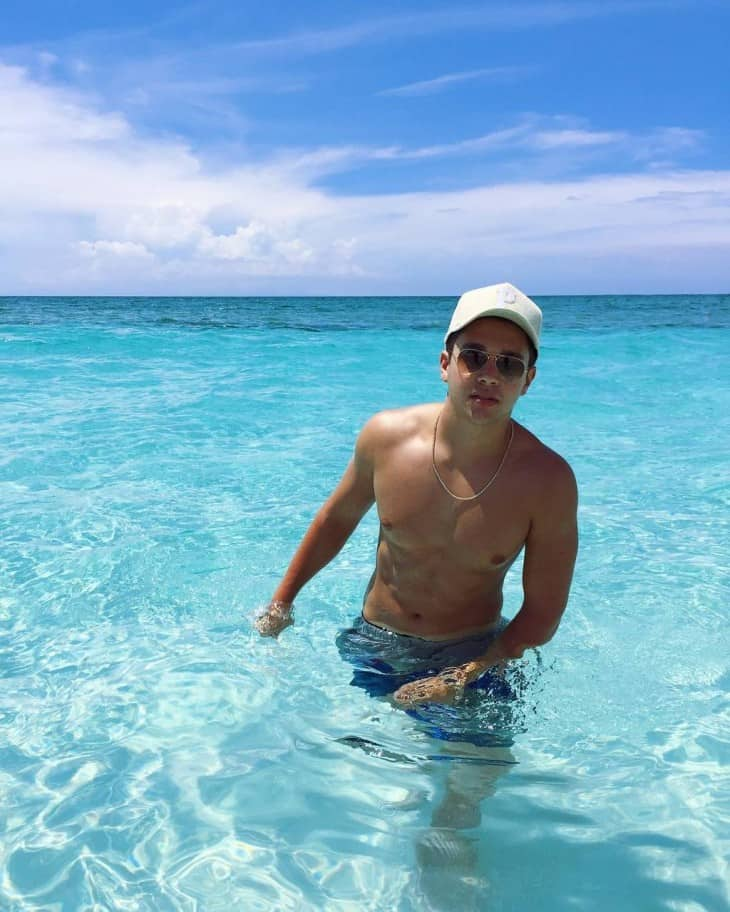 Austin Mahone Shirtless Instagram