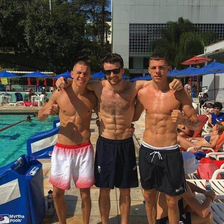Team GB Boxer Pat McCormack Including Shirtless
