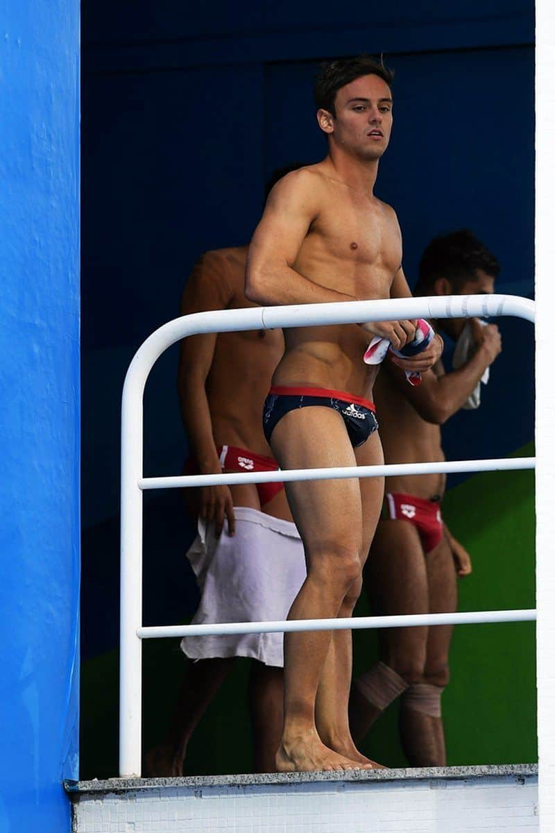 Tom Daley Rio Photoshoot & Caps image