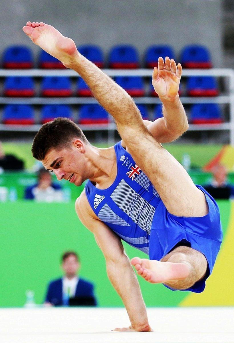 Max Whitlock In Action In Rio image