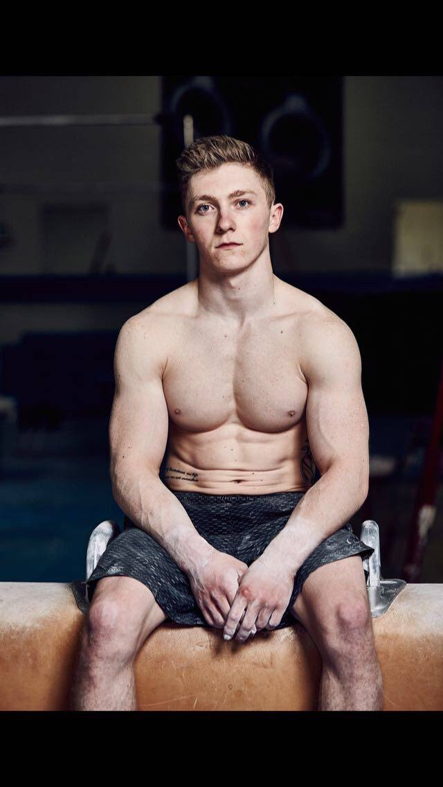 British Gymnast Nile Wilson Topless