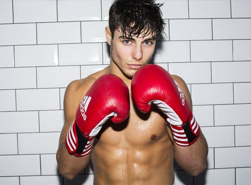 Team GB Boxer & Model Joshua Kelly Including Shirtless