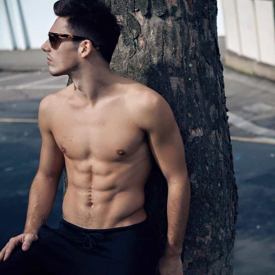 Mix Of Chris Mears Shirtless image