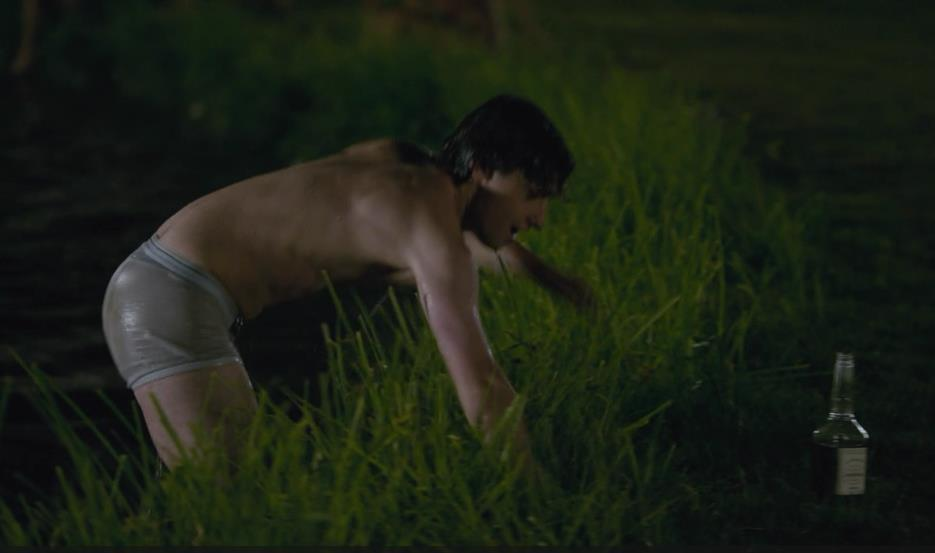 Craig Roberts Shirtless & Bulging image
