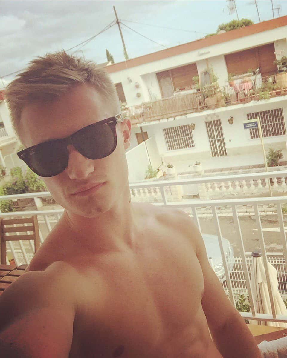 Jack Laugher Relaxing After Rio Olympics