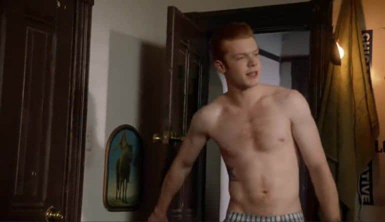 cameron monaghan mix fit males shirtless naked
