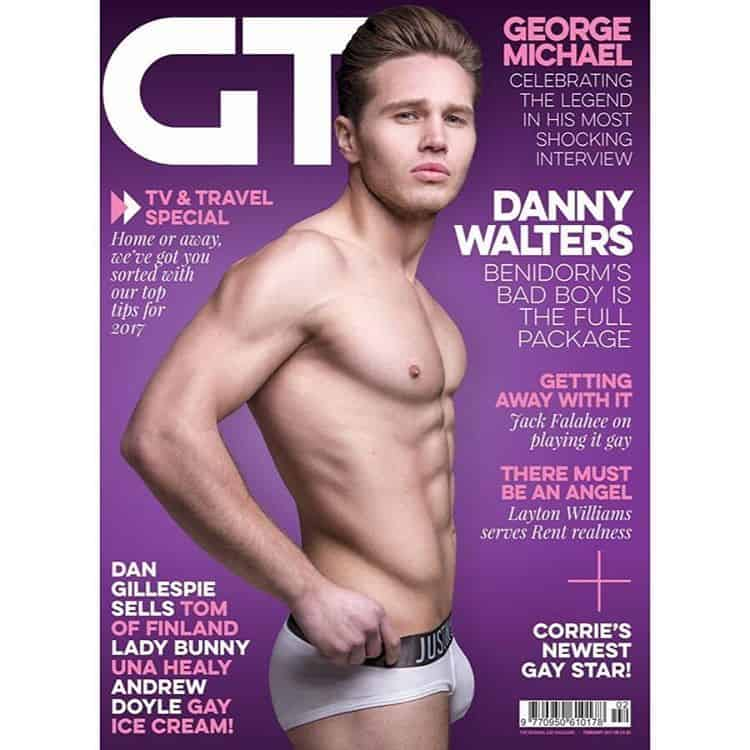 danny walter bulging gay times february 2017