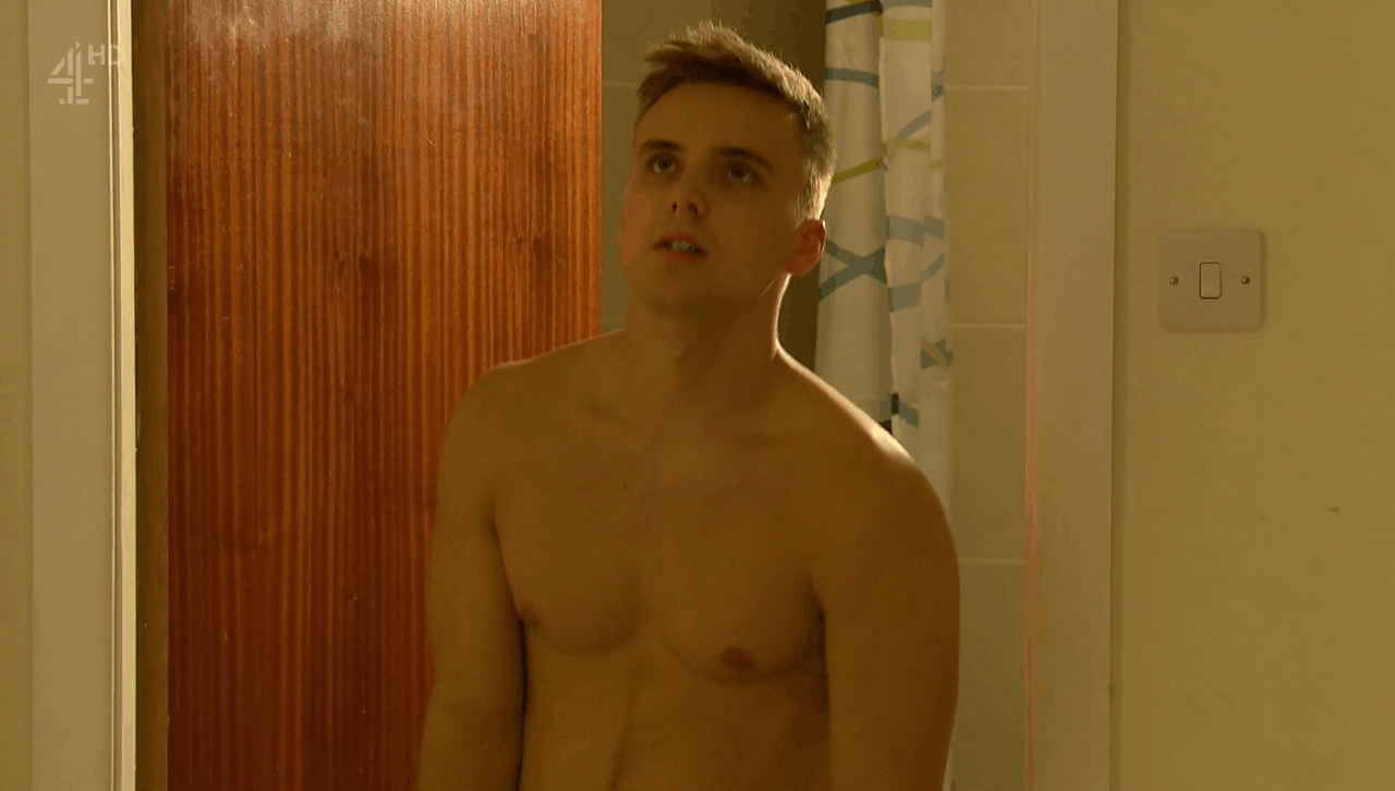 Parry Glasspool Shirtless Kissing