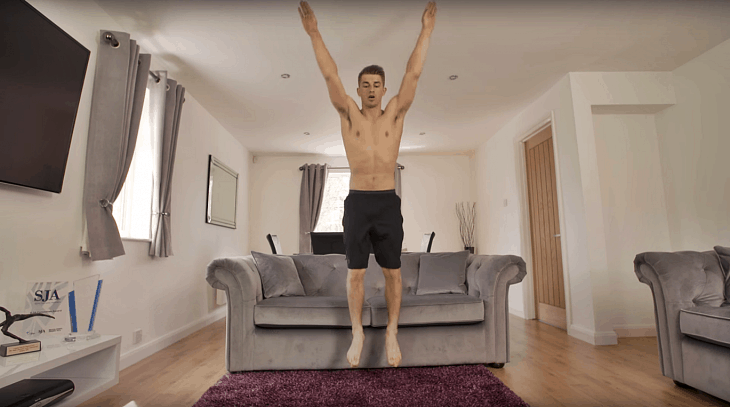 Gymnast Max Whitlock Shirtless Selection