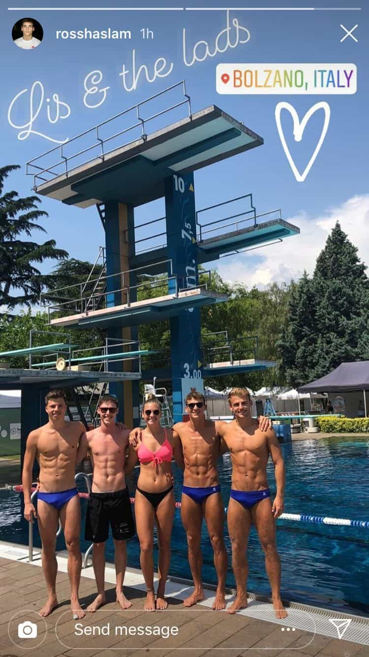 Team GB Divers In Turkey