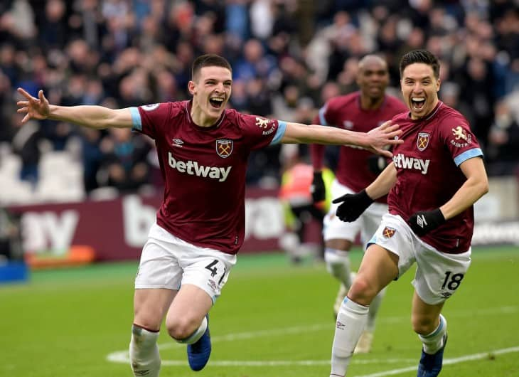 Declan Rice Shirtless