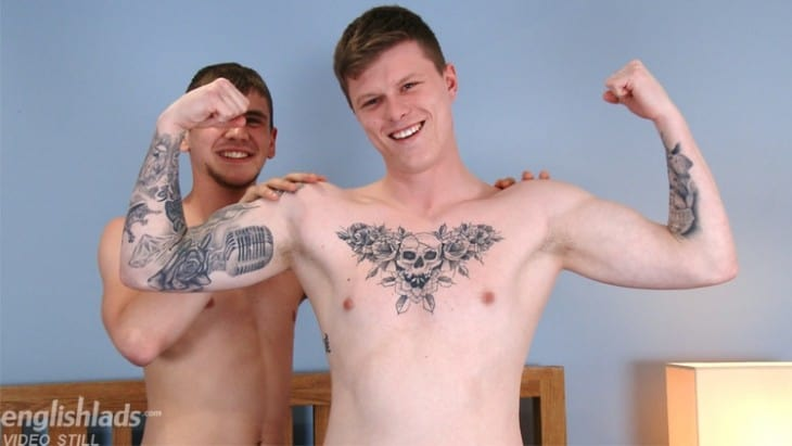English Lads: Dominic Moore & Hayden Green