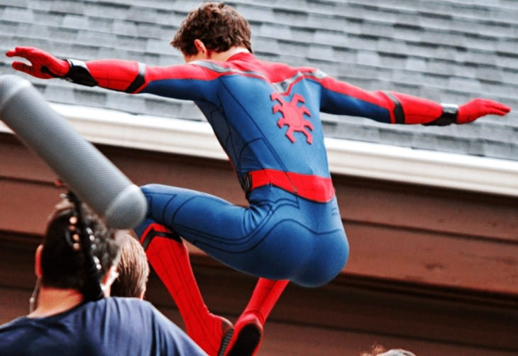 Tom Holland, Bum - Tom Holland In Spiderman Suit - That Ass