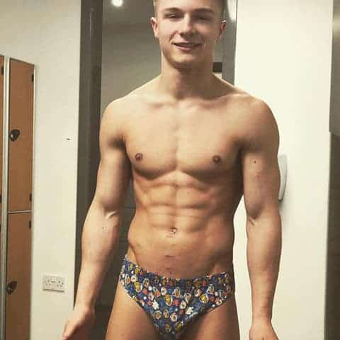 Twinks, Selfie Lads, Jordan James, Bum - Model Jordan James Shirtless Selfies