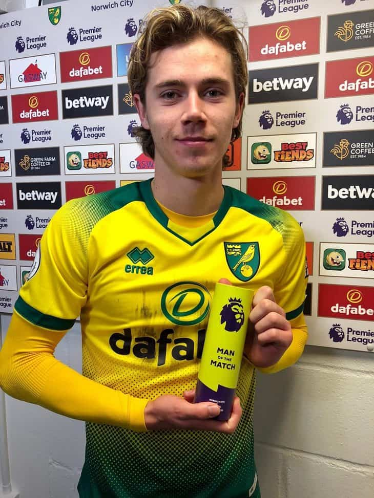 todd cantwell man of the match