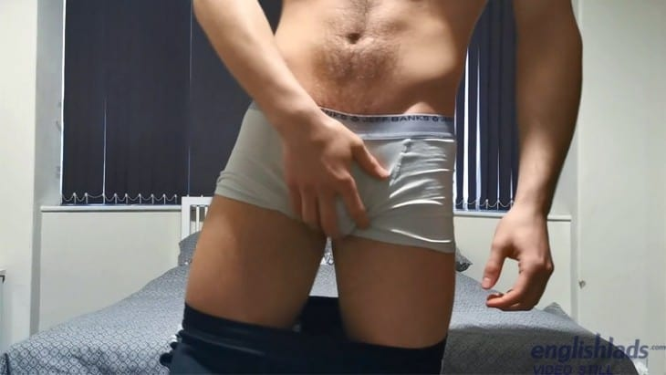 Scally Lads, British Gay Porn - English Lads Joe Fitzpatrick Wanking At Home