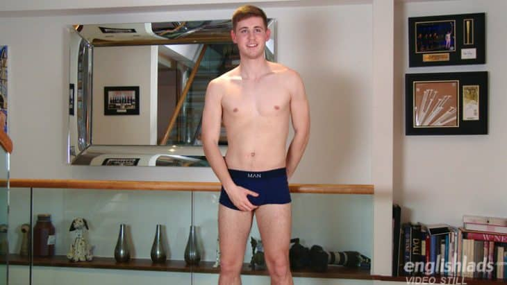 straight scally lad in underwear