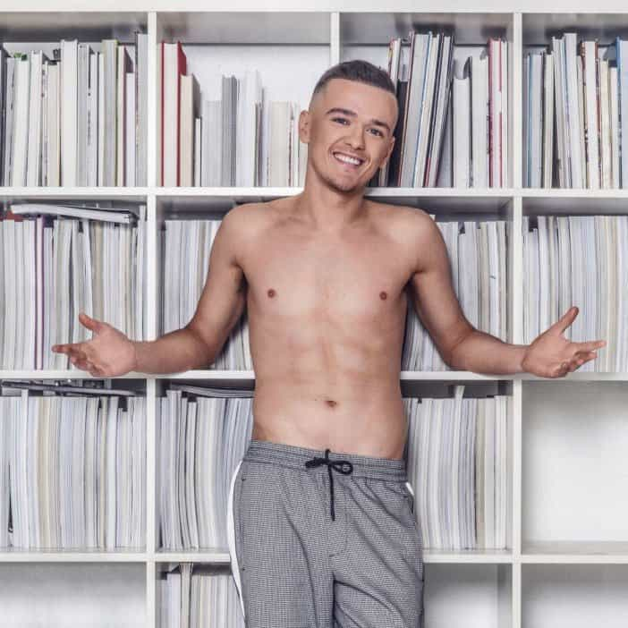 chav george sampson shirtless photoshoot