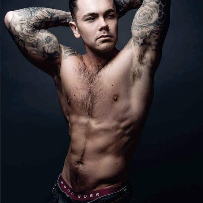ray quinn shirtless photoshoot
