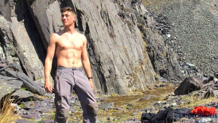 Muscle Twink Henry Kane Outdoors Wank
