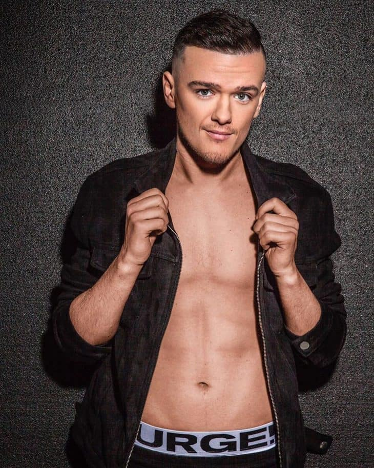 scally george sampson shirtless
