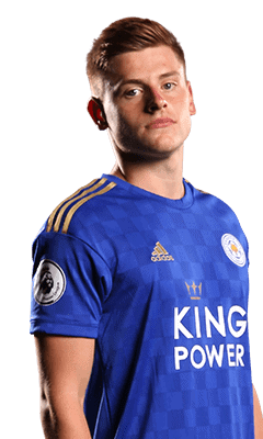 harvey barnes in leicester kit